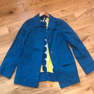 Jackets & Blazers - NWOT Blue Raincoat